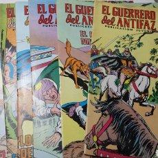Tebeos: LOTE 18 COMICS GUERRERO DEL ANTIFAZ AÑOS 70. Lote 94424942