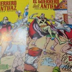 Tebeos: LOTE 2 CÓMICS GUERRERO DEL ANTIFAZ AÑOS 70. Lote 94425242