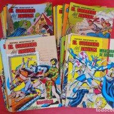 Tebeos: LOTE 43 COMIC, NUEVAS AVENTURAS DE, EL GUERRERO DEL ANTIFAZ -AÑO 1979-MUY BIEN CONSERVADOS...R- 6772. Lote 94430234