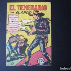 Tebeos: FORMIDABLES AVENTURAS DE EL TEMERARIO Nº21 ( EDITORIAL VALENCIANA, 1947 ). Lote 94440094