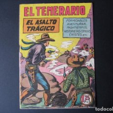 Tebeos: FORMIDABLES AVENTURAS DE EL TEMERARIO Nº14 ( EDITORIAL VALENCIANA, 1943). Lote 94441022