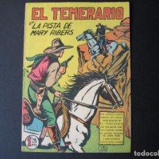 Tebeos: FORMIDABLES AVENTURAS DE EL TEMERARIO Nº22 (EDITORIAL VALENCIANA,1943 ). Lote 94441242