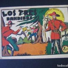 Tebeos: DAVID DE LA POLICIA MONTADA Nº1 ( 1951,ED.VALENCIANA). Lote 94461382