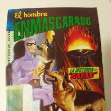 Tebeos: EL HOMBRE ENMASCARADO Nº 18 - LA HISTORIA DE SATAN - COLOSOS DEL COMIC - AÑO 1980 - ED VALENCIANA. Lote 94760819