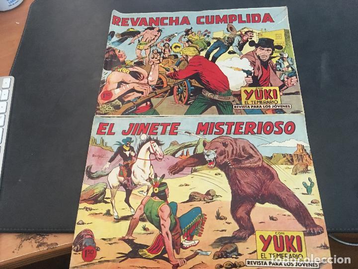 Tebeos: YUKI EL TEMERARIO LOTE Nº 1 AL 50 EXCEPTO 4, 5 Y 15 (ORIGINAL ED. VALENCIANA) (COIB172) - Foto 6 - 94817155