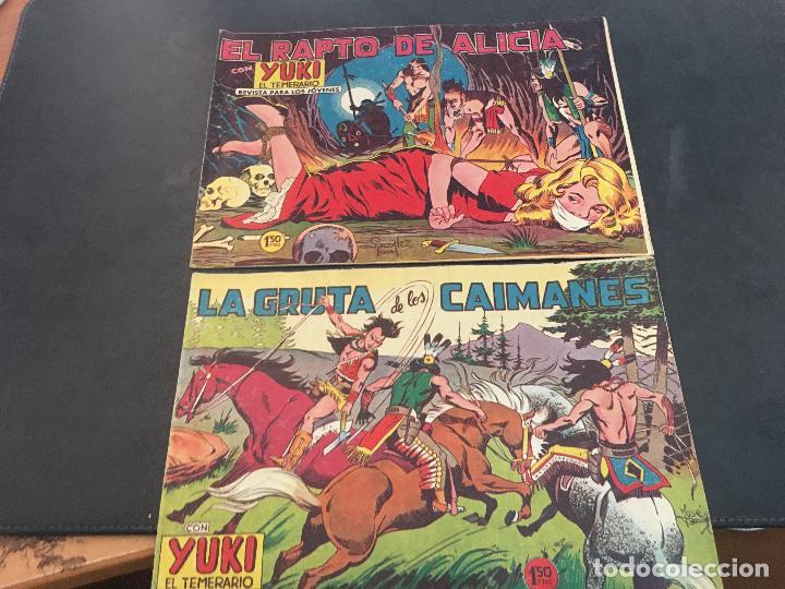 Tebeos: YUKI EL TEMERARIO LOTE Nº 1 AL 50 EXCEPTO 4, 5 Y 15 (ORIGINAL ED. VALENCIANA) (COIB172) - Foto 10 - 94817155