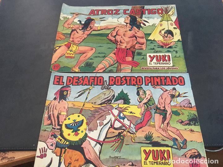 Tebeos: YUKI EL TEMERARIO LOTE Nº 1 AL 50 EXCEPTO 4, 5 Y 15 (ORIGINAL ED. VALENCIANA) (COIB172) - Foto 13 - 94817155