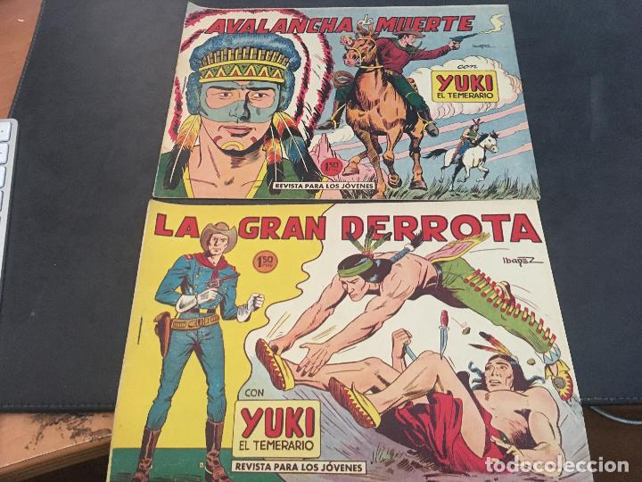 Tebeos: YUKI EL TEMERARIO LOTE Nº 1 AL 50 EXCEPTO 4, 5 Y 15 (ORIGINAL ED. VALENCIANA) (COIB172) - Foto 16 - 94817155