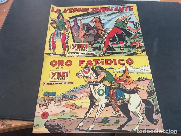 Tebeos: YUKI EL TEMERARIO LOTE Nº 1 AL 50 EXCEPTO 4, 5 Y 15 (ORIGINAL ED. VALENCIANA) (COIB172) - Foto 17 - 94817155