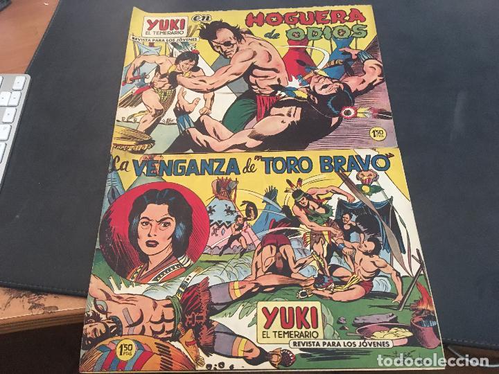 Tebeos: YUKI EL TEMERARIO LOTE Nº 1 AL 50 EXCEPTO 4, 5 Y 15 (ORIGINAL ED. VALENCIANA) (COIB172) - Foto 18 - 94817155