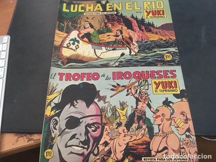 Tebeos: YUKI EL TEMERARIO LOTE Nº 1 AL 50 EXCEPTO 4, 5 Y 15 (ORIGINAL ED. VALENCIANA) (COIB172) - Foto 21 - 94817155