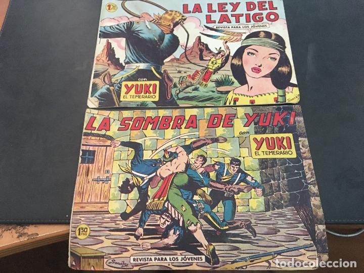 Tebeos: YUKI EL TEMERARIO LOTE Nº 1 AL 50 EXCEPTO 4, 5 Y 15 (ORIGINAL ED. VALENCIANA) (COIB172) - Foto 24 - 94817155