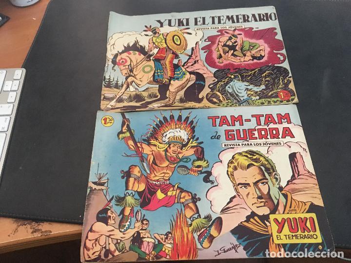 Tebeos: YUKI EL TEMERARIO LOTE Nº 1 AL 50 EXCEPTO 4, 5 Y 15 (ORIGINAL ED. VALENCIANA) (COIB172) - Foto 25 - 94817155