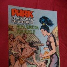 Tebeos: PURK . EL HOMBRE DE PIEDRA. Nº 40. EDITORIAL VALENCIANA.. Lote 94830335