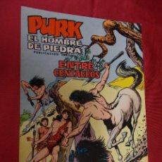 Tebeos: PURK . EL HOMBRE DE PIEDRA. Nº 44. EDITORIAL VALENCIANA.. Lote 94830491