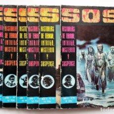 Tebeos: LOTE TEBEOS SOS, NÚMEROS: 5, 7, 21, 22, 23, 24 Y 25. EDITORIAL VALENCIANA.. Lote 95002843