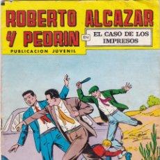 Tebeos: ROBERTO ALCAZAR Y PEDRIN Nº 197 29/ XII/ 1979 EL CASO DE LOS IMPRESOS . Lote 95007935