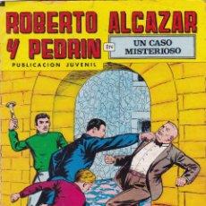 Tebeos: ROBERTO ALCAZAR Y PEDRIN Nº 177 11/VIII/1979 UN CASO MISTERIOSO. Lote 95008059