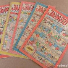 Tebeos: JAIMITO LOTE DE 5 NUMEROS EDITORIAL VALENCIANA. Lote 95110931