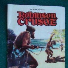 Tebeos: CLASICOS ILUSTRADOS ROBINSON CRUSOE. Lote 95339343