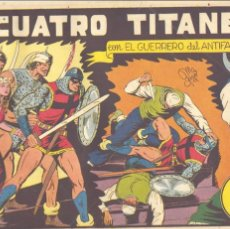 Tebeos: GUERRERO DEL ANTIFAZ Nº31. ORIGINAL. EDITORIAL VALENCIANA. MANUEL GAGO. Lote 67877517