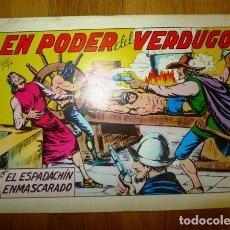 Tebeos: EL ESPADACHÍN ENMASCARADO. Nº 8 : EN PODER DEL VERDUGO. - 2ª ED. . Lote 95373879