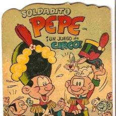 Tebeos: SOLDADITO PEPE,TROQUELADOS PUMBY- DIFICIL- ORIGINAL MUY BONITO 1965- LEER. Lote 95426055