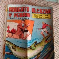 Tebeos: **ROBERTO ALCAZAR Y PEDRIN EN, EL TRIO MALDITO, 1976 NO. 18**. Lote 95613827