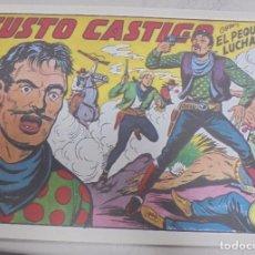 Tebeos: TEBEO. JUSTO CASTIGO CON EL PEQUEÑO LUCHADOR. Nº 139. Lote 95669019