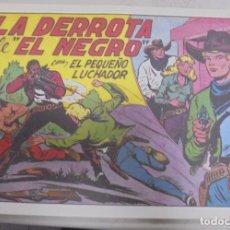 Tebeos: TEBEO. LA DERROTA DE EL NEGRO CON EL PEQUEÑO LUCHADOR. Nº 153. Lote 95669407