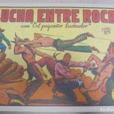Tebeos: TEBEO. LUCHA ENTRE ROCAS CON EL PEQUEÑO LUCHADOR. Nº 6. Lote 95670567