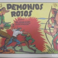 Tebeos: TEBEO. LOS DEMONIOS ROJOS CON EL PEQUEÑO LUCHADOR. Nº 4. Lote 95670631