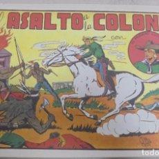 Tebeos: TEBEO. EL ASALTO A LA COLONIA CON EL PEQUEÑO LUCHADOR. Nº 12. Lote 95670759