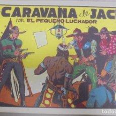 Tebeos: TEBEO. LA CARAVANA DE JACK CON EL PEQUEÑO LUCHADOR. Nº 15. Lote 95670947