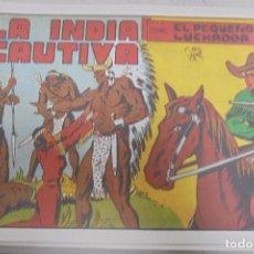 Tebeos: TEBEO. LA INDIA CAUTIVA CON EL PEQUEÑO LUCHADOR. Nº 9. Lote 95670975