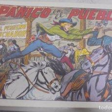 Tebeos: TEBEO. PANICO EN EL PUEBLO CON EL PEQUEÑO LUCHADOR. Nº 175. Lote 95671031