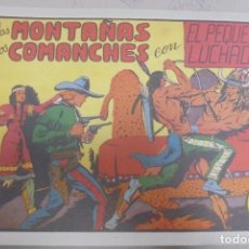Tebeos: TEBEO. EN LAS MONTAÑAS DE LOS COMANCHES CON EL PEQUEÑO LUCHADOR. Nº 10. Lote 95671083
