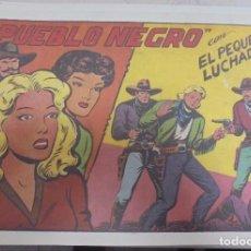 Tebeos: TEBEO. PUEBLO NEGRO CON EL PEQUEÑO LUCHADOR. Nº 109. Lote 95671715