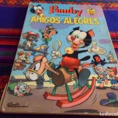 Tebeos: LIBROS ILUSTRADOS PUMBY Nº 1. VALENCIANA 1967 35 PTS. AMIGOS ALEGRES. BUEN ESTADO Y RARO.. Lote 95742703