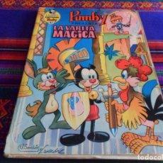 Tebeos: LIBROS ILUSTRADOS PUMBY Nº 42. VALENCIANA 1972 40 PTS. LA VARITA MÁGICA. RARO.. Lote 95743063