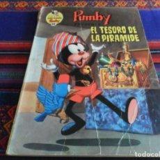 Tebeos: LIBROS ILUSTRADOS PUMBY Nº 48. VALENCIANA 1972 40 PTS. EL TESORO DE LA PIRÁMIDE. DIFÍCIL.. Lote 95743339
