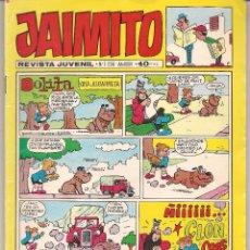 Tebeos: JAIMITO. Nº 1556. VALENCIANA 1980.(C/A58). Lote 95770099