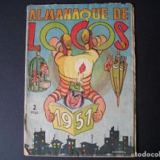 Tebeos: ALMANAQUE DE LOCOS Nº6 ( EDITORIAL VALENCIANA, 1950). Lote 95956251