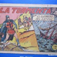 Tebeos: EL GUERRERO DEL ANTIFAZ , N.148 , LA TORMENTA , VALENCIANA. Lote 96091303