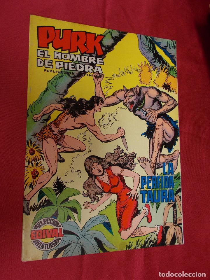 PURK . EL HOMBRE DE PIEDRA. Nº 65 EDITORIAL VALENCIANA. (Tebeos y Comics - Valenciana - Purk, el Hombre de Piedra)