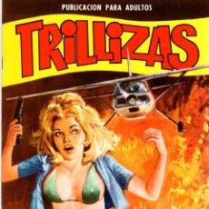 BDs: LAS TRILLIZAS. Nº 8. LOS INCENDIARIOS. AÑO 1977. Lote 96677131
