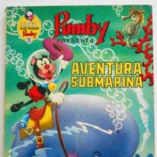 Tebeos: LIBROS ILUSTRADOS PUMBY Nº 35 - AVENTURA SUBMARINA - EDITORIAL VALENCIANA 1971. Lote 96691507