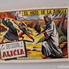 Tebeos: EL HIJO DE LA JUNGLA, DE GAGO Y SERCHIO. TOMO 9, REEDICIÓN.. Lote 96949539