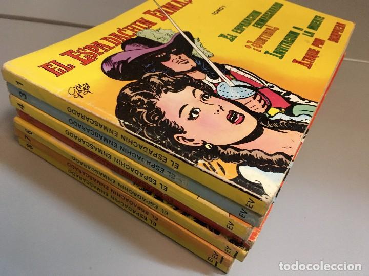 LIQUIDACION ESPADACHIN ENMASCARADO RETAPADOS TOMOS 1 3 4 5 6 7 Y 8 (EL 2 NO ) (Tebeos y Comics - Valenciana - Espadachín Enmascarado)