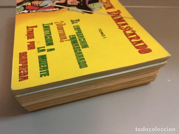 Tebeos: LIQUIDACION ESPADACHIN ENMASCARADO RETAPADOS TOMOS 1 3 4 5 6 7 Y 8 (el 2 no ) - Foto 2 - 97253483